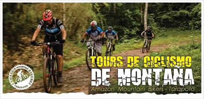 Amazon Mountain Bikers Tarapoto eco turismo en bicic leta
